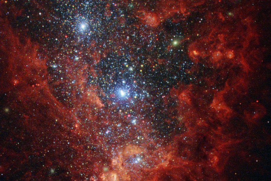 Hubble image of NGC 1569